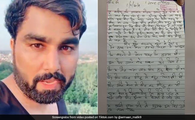 टिकटॉक स्टार ने छत पर चढ़कर दी आत्महत्या की धमकी, Suicide नोट में लिखा- 'मैं दुनिया छोड़कर जा रहा हूं...'