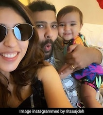 Rohit Sharma's Wife's Hilarious Reply To Chahal's 'You Cropped Me' Quip