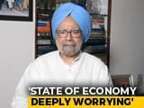 "Video : ""All-Round Mismanagement"" By Government Led To Slowdown: Manmohan Singh"