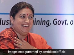 BJP Took Several Steps For Development Of Jharkhand: Smriti Irani