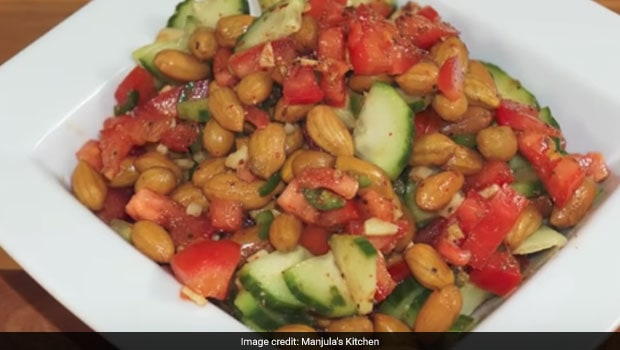 Weight Loss: Nosh On This High-Protein Peanut Chaat If You Are Dieting (Watch Recipe Video)