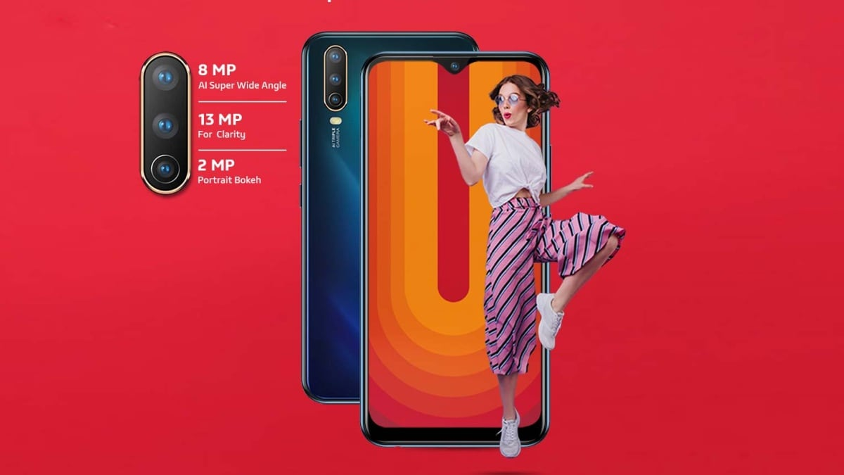 Vivo U10 launched in India with triple rear camera and 5,000mAh ...