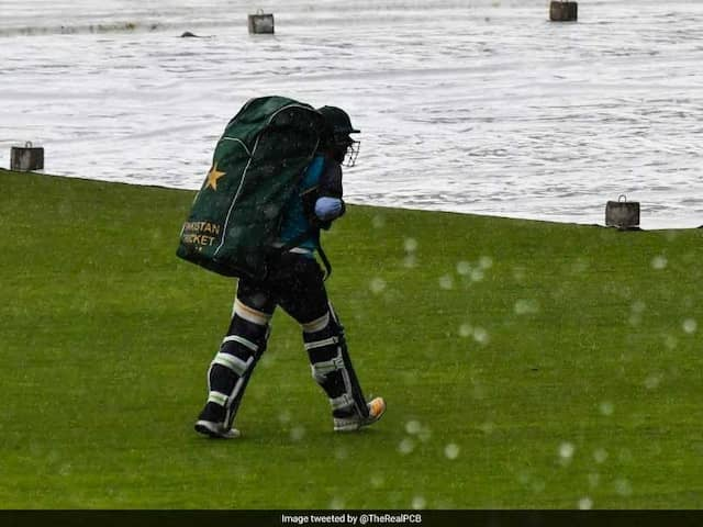 Pakistan vs Sri Lanka: First ODI has been called off due to rain