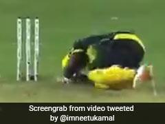 Andre Russell को कैरेबियन प्रीमियर लीग के मैच में सिर पर लगी गेंद, देखें VIDEO