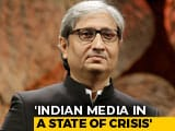 "Video : ""Truth Essential To Democracy"": Ravish Kumar Receives Magsaysay Award"