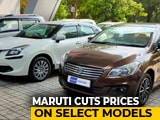 Video : Rs. 5,000 Price Cut On Some Maruti Suzuki Models After Corporate Tax Move