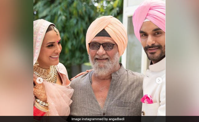 Angad Bedi Posts Moving Birthday Wish For Dad Bishan Singh Bedi: 'You Have Been An Inspiration To Many On The Field And Off It'
