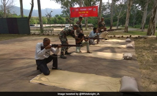 Army Organises Training Sessions For Village Defence Committees In J&K