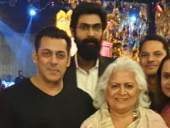 Nothing To See Here, Just A Pic Of Salman Khan And Rana Daggubbati