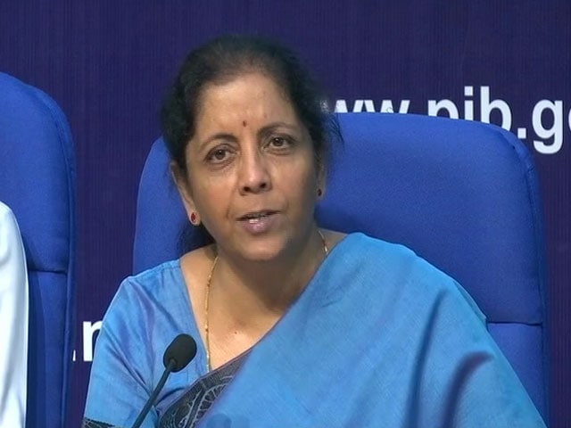 Video: Nirmala Sitharaman Announces Measures To Promote Exports