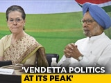 "Video : ""2019 Mandate Being Abused In Most Dangerous Fashion"": Sonia Gandhi"