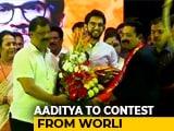 Video: Shiv Sena's Aaditya Thackeray To Contest Maharashtra Elections From Worli