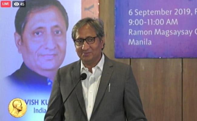 WhatsApp And Public Are My Newsroom: Ravish Kumar's Magsaysay Speech