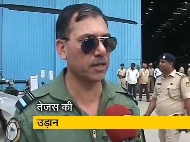 Videos : तेजस उड़ाने वाले एयर वाइस मार्शल ने कहा- यह मेरे लिए बड़ा मौका था