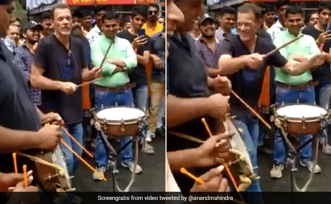 Drummer Behind 'The Matrix' Plays In Pune. Anand Mahindra Shares Clip