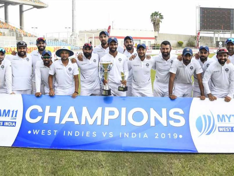 India Thrash West Indies By 257 Runs To Win Series 2-0