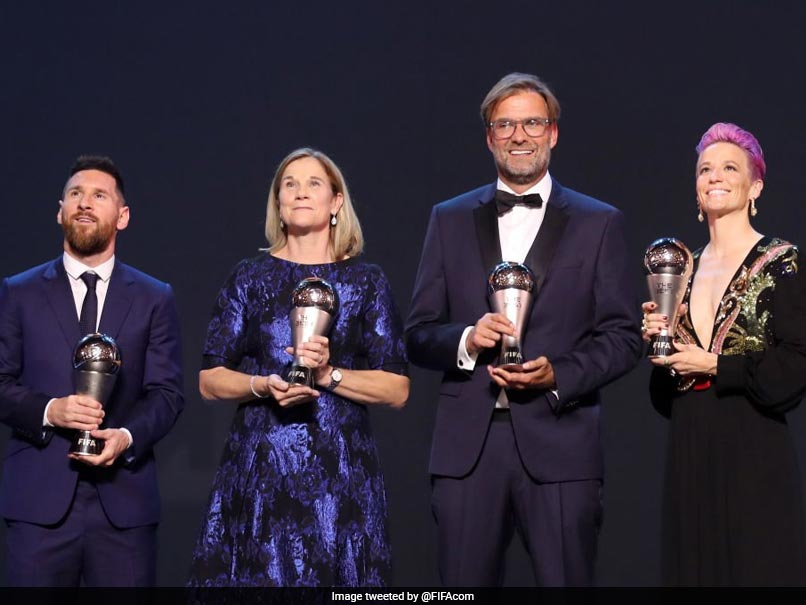 Messi collects record 6th FIFA player of the year