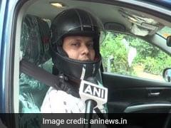 यूपी में कार चलाते वक्त नहीं पहना हेलमेट तो काट दिया चालान, शख्स ने किया अब ऐसा