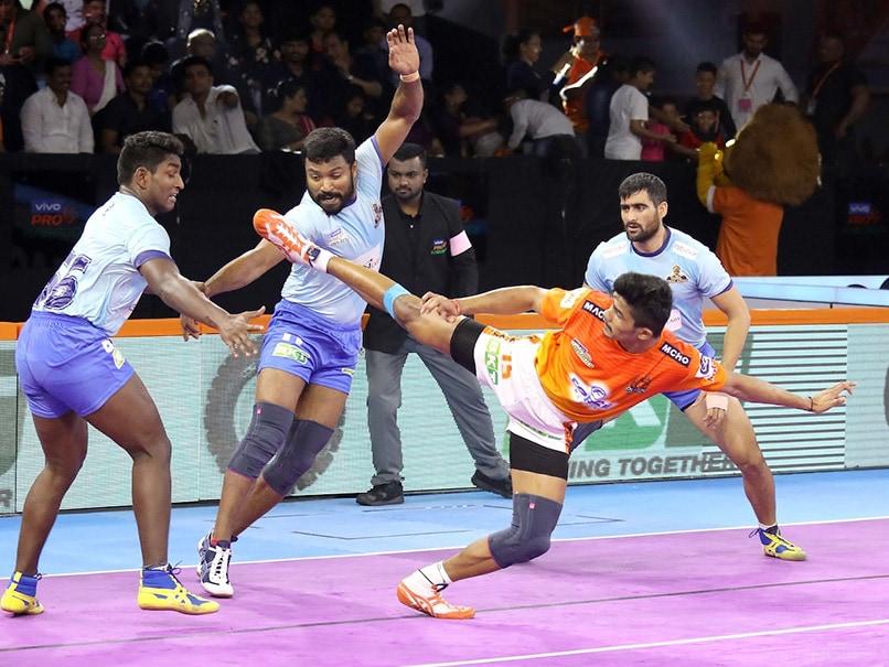 Pro Kabaddi: Puneri Paltan, Tamil Thalaivas Play Out Draw, Umumba Edge Past UP Yoddha