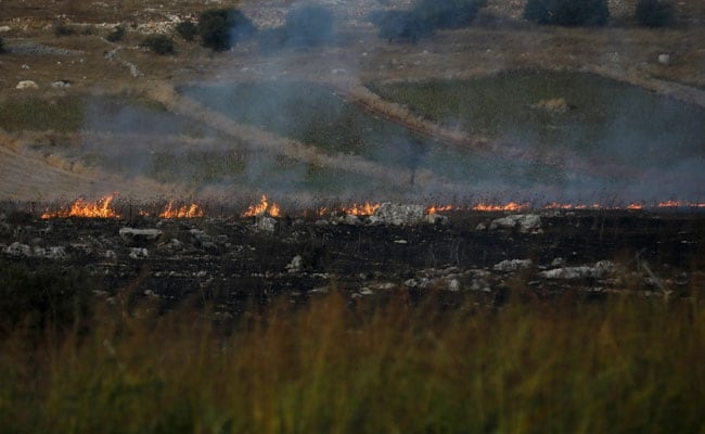 Image result for Conflict rages on as Lebanon's Hezbollah says it downed Israeli drone