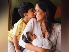 Sameera Reddy Shares A Glimpse Of Her 'World' And Its Adorable Beyond Words