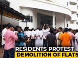 "Video : ""Injustice"": Residents Protest Demolition Of Buildings In Posh Kochi Area"