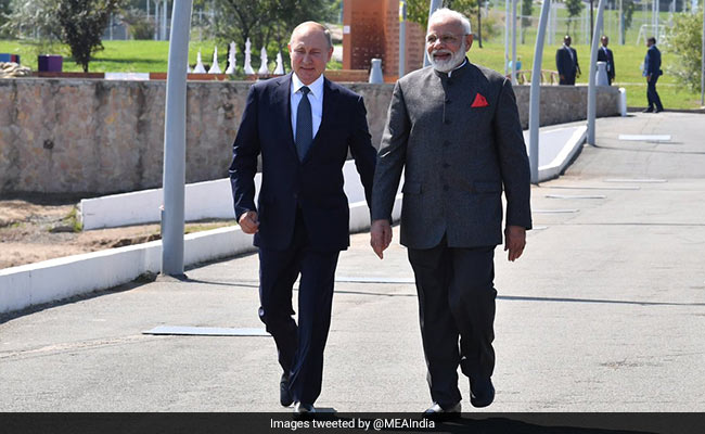 India, Russia Ink Pact For Maritime Route Between Chennai And Vladivostok