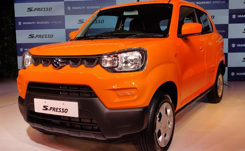 Image result for <a class='inner-topic-link' href='/search/topic?searchType=search&searchTerm=MARUTI' target='_blank' title='click here to read more'></div>maruti </a>Suzuki S- Presso launched in India