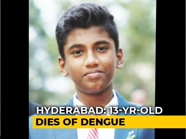 Video : 13-Year-Old Boy's Death Stokes Fears Of Dengue Spike In Hyderabad