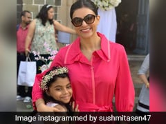 Sushmita Sen's 'Sunday Special Breakfast' Featured Pancakes And This Cute Message By Her Daughter