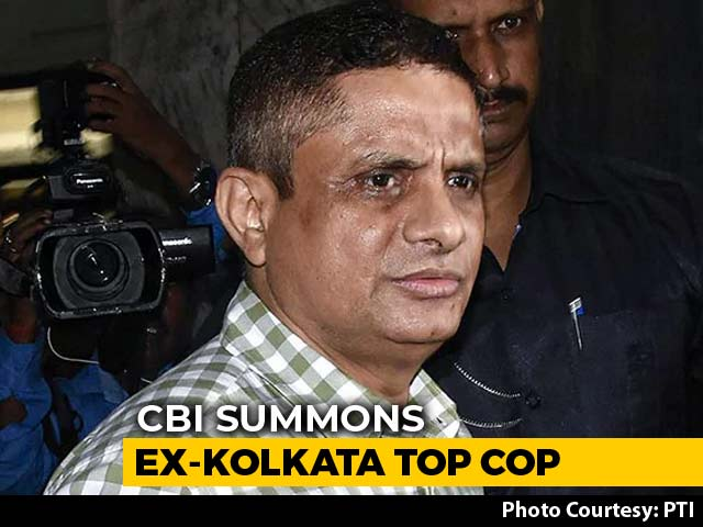 Video : CBI Officials Visit State Secretariat To Seek Info On Ex-Kolkata Top Cop