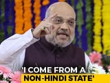 "Video : ""Never Asked For Imposing Hindi Over Other Regional Languages"": Amit Shah"