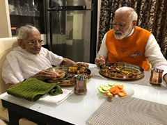 PM Narendra Modi Celebrates His 69th Birthday Today Over Lunch With Mother