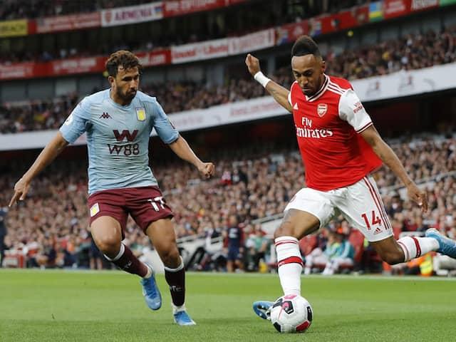 Arsenal vs Aston Villa: Pierre-Emerick Aubameyangs Late Free Kick Lead Arsenal To 3-2 Win Over Aston Villa