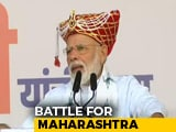 Video : In Nashik, PM Modi Sets The Tone For Maharashtra Poll Campaign