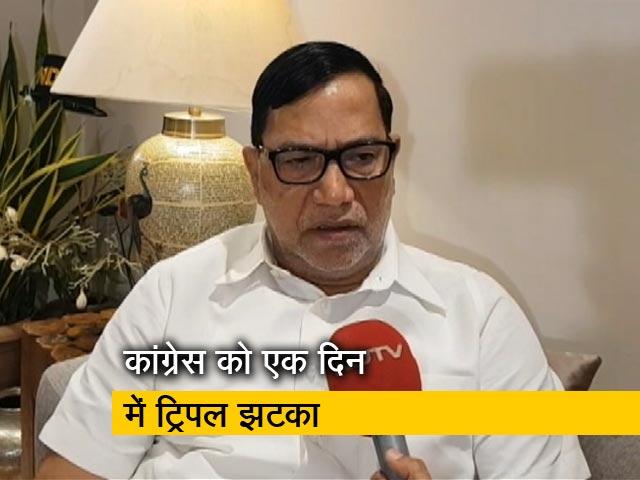 Videos : अनुच्छेद 370 पर पार्टी से असहमति के चलते दिया इस्तीफा- कृपाशंकर सिंह