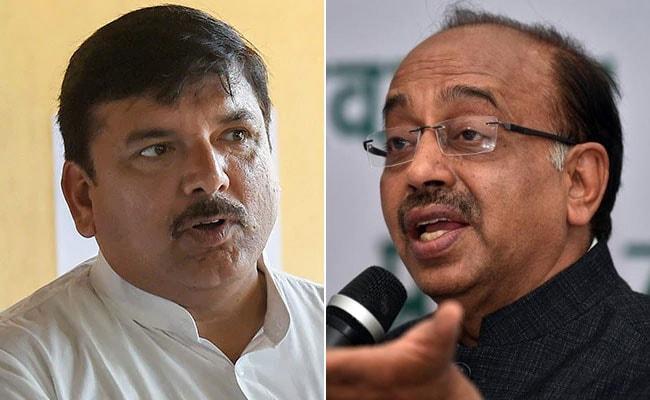 AAP नेता संजय सिंह का BJP पर हमला- क्या भाजपा के नेताओं और बिजली कंपनियों के बीच कोई समझौता हुआ है?