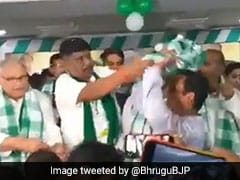 On Camera, BJD MP Slaps Party Worker On Stage