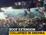 Video : Roof Collapses During Muharram Procession In Andhra Pradesh, 20 Injured