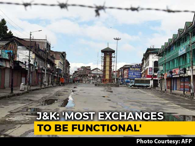 Video : All Landline Exchanges In Kashmir To Be Restored, Cellphones Still Out
