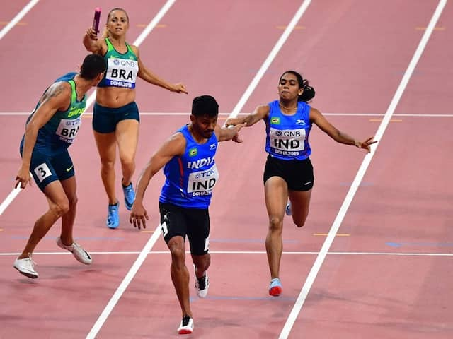 World Athletics Championships: India Mixed 4x400m Relay Team Qualifies For World Championships Final, Books Olympics Berth