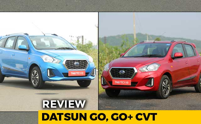 Video : Datsun GO, GO+ CVT Review