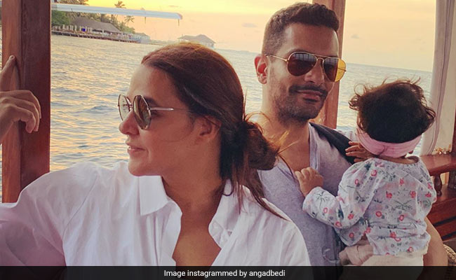 'May Your Head Be High And Your Ponytail Even Higher,' Neha Dhupia Writes In Her Note For 10-Month-Old Daughter Mehr