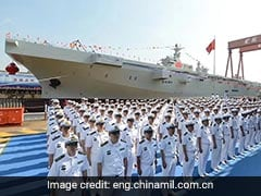 Chinese Navy Launches First Amphibious Assault Ship