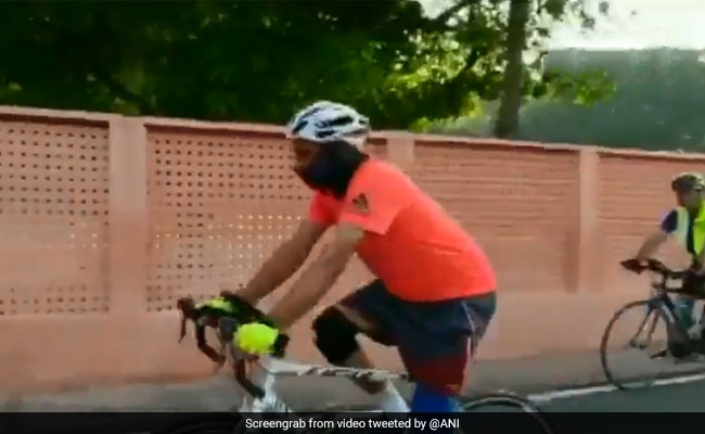 Army Commander Cycles 14 Hours From Delhi To Jaipur To Take Charge