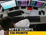 Video : Sensex Slumps 470 Points, Falls To Lowest Level In Over Six Months