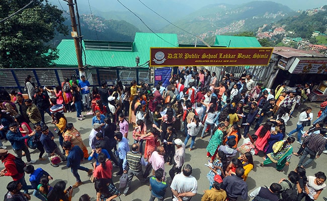 Over 38,000 Take Exam For Recruitment Of Constables In Himachal Pradesh Police
