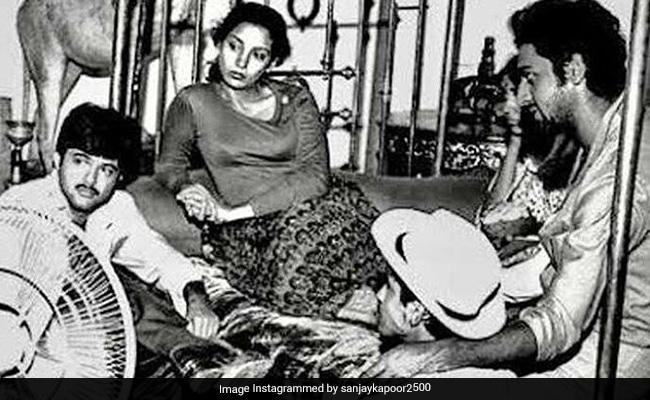 Seen This Throwback Pic Of Anil Kapoor, Shabana Azmi And Gulshan Grover Yet?