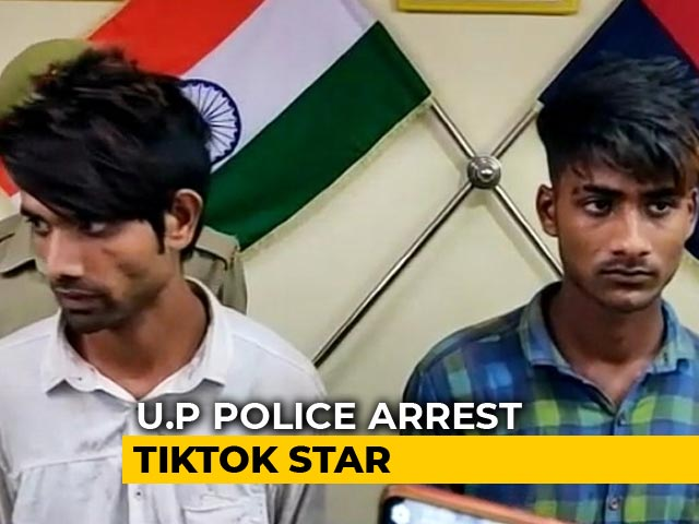 Video : TikTok User With 40,000 Followers Arrested In Theft Cases Near Delhi