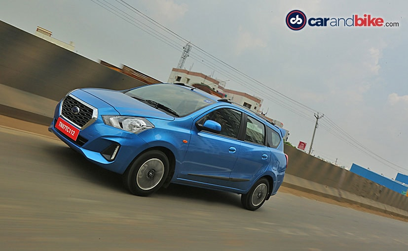 Both Datsun GO and GO+ CVT will only be available in the top two T and T (O) variants